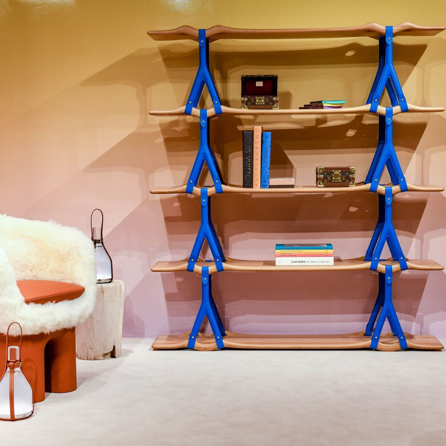 路易威登 2019 呈現美國設計師 Andrew Kudless Objets Nomades 系列作品