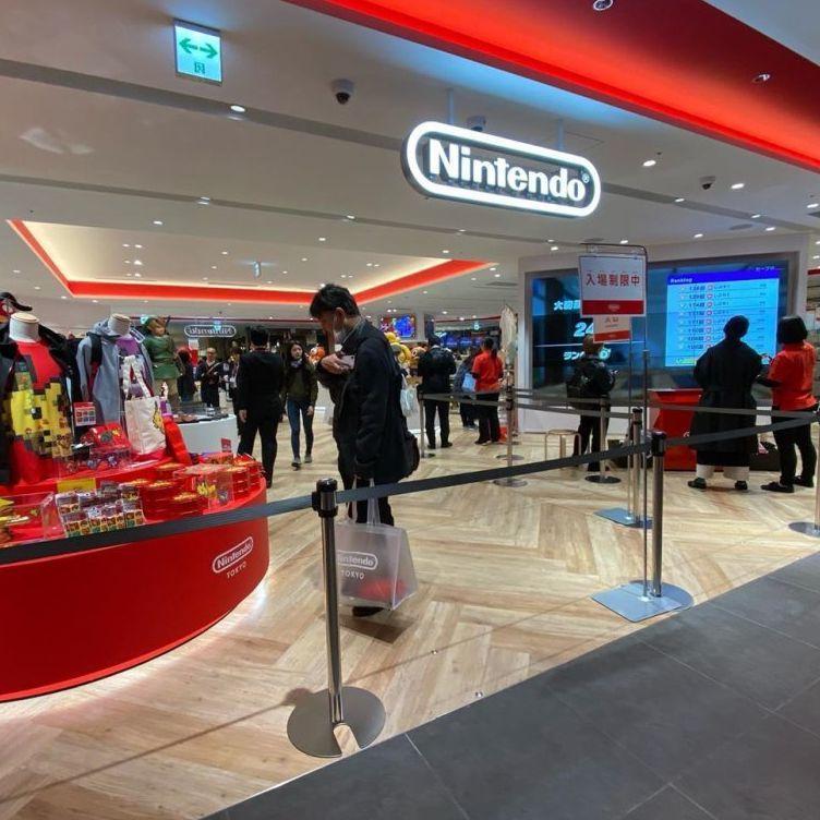 電玩迷終於等到了!任天堂專門店東京開幕!