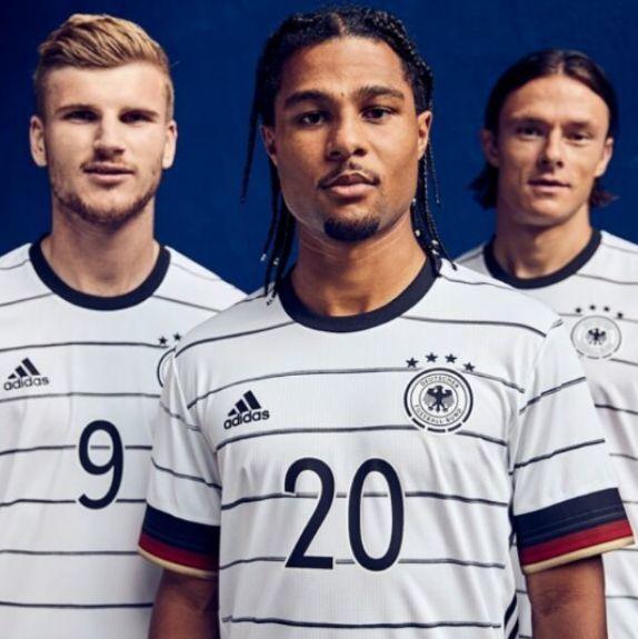 2020年歐洲國家盃 5國主場球衣正式亮相